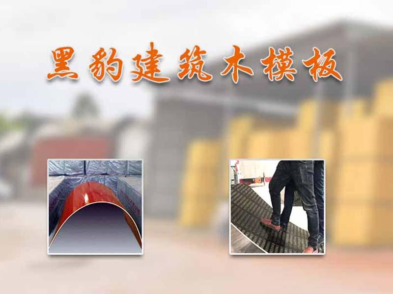 广西建筑木模板厂家「黑豹木业」介绍